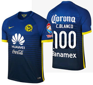 007dd25c66d Image is loading NIKE-CUAUHTEMOC-BLANCO-CLUB-AMERICA-AWAY-JERSEY-2015-