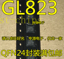 10 PCS GL823 QFN-24 USB 2.0 SD//MMC Card Reader  Controller