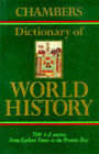 Chambers Dictionary of World History by Pan Macmillan (Hardback, 1993)