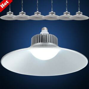 1-10 PCS UFO LED High Bay Light 50//100//200//300//500W Warehouse Shop GYM Lighting