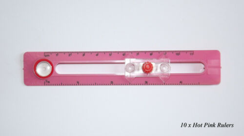 Hot Pink or Baby Pink Great For School 10 x Safe Drawing Compass Home /& Office