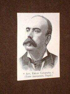 Deputato-o-Onorevole-nel-1893-Avvocato-Emilio-Catapano-Torre-Annunziata-Napoli