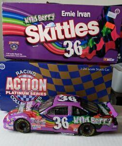 Ernie Irvan #36 Skittles Wild Berry 1998 Pontiac Diecast 1:24 Action limited ed