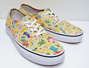 7d4950a1a0 Image is loading VANS-Authentic-Liberty-Wonderland-True-White-VN-0ZUKFHI-