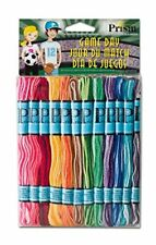 6 Strand Embroidery Floss Thread Cotton Yarn Skein - Milline Pack of 12 x 8m