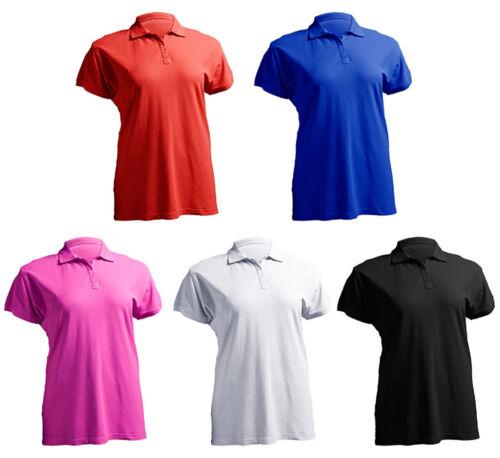 Damen Polo Shirt weit und bequem geschnitten für Mollige