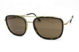 New-Authentic-BURBERRY-BE3085Q-11675W-Brushed-LtGold-DkTortoise-Brown-Sunglasses