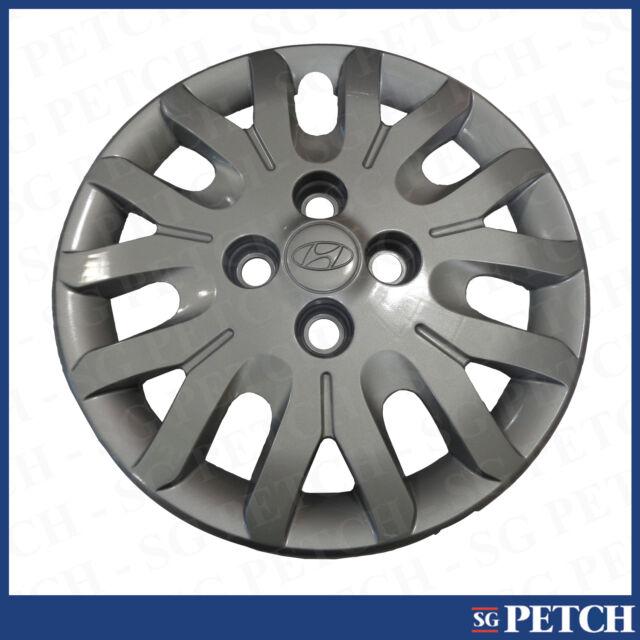 """hyundai i10 14"""" wheel trim x 1 hub cap genuine 529600x100   ebay"""
