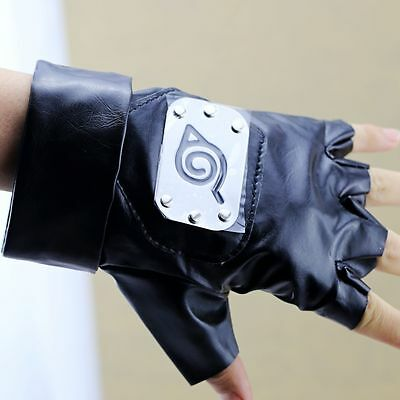 Naruto Kakashi Hatake Gloves Ninja Weapon Kunai Itachi Sasuke Anime Cosplay Gift