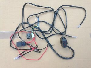 new universal motorcycle indicator wiring loom harness kit relay image is loading new universal motorcycle indicator wiring loom harness kit