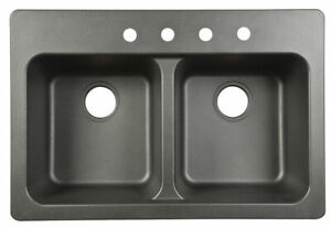 Kindred-Tectonite-Dual-Mount-33-in-W-x-22-in-L-Kitchen-Sink-Black