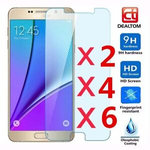 6pcs-9H-Temper-Glass-Film-Screen-Protector-Guard-for-Samsung-GALAXY-J1-J7-S3-S7