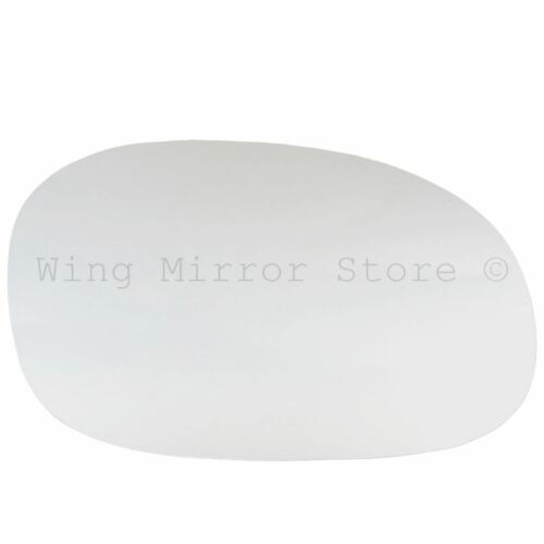 Right Driver Side WING DOOR MIRROR GLASS For Citroen C2 C3 2002-2007 Stick On