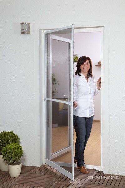 Profi Insektenschutz Tür Fliegengitter Alu XL 120 x 240 cm Top-Qualität 2 Farben   eine breite Palette von Produkten    Schön geformt    Großhandel    Authentische Garantie