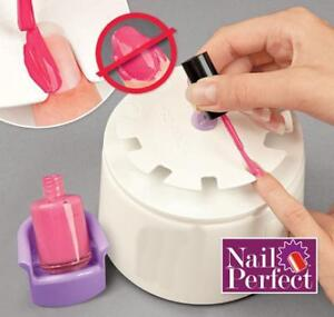 Nail Perfect Kit As Seen On Tv With Free 200 Nail Art Decals Ebay