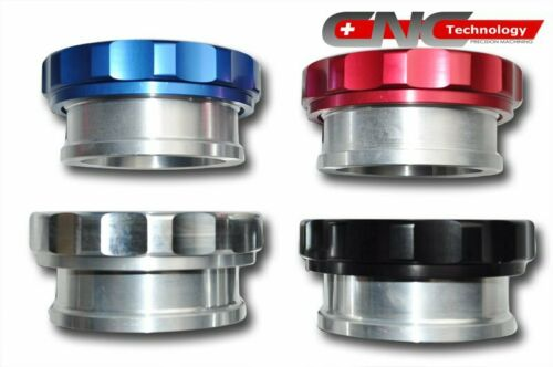 """Aluminium Alloy Weld On Filler Neck Cap 2 1//2/"""" with O-Ring Oil Catch Can Tank BK"""