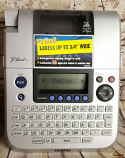 Brother P Touch Pt 1880 Label Thermal Printer No Power Adapter Labels Battery