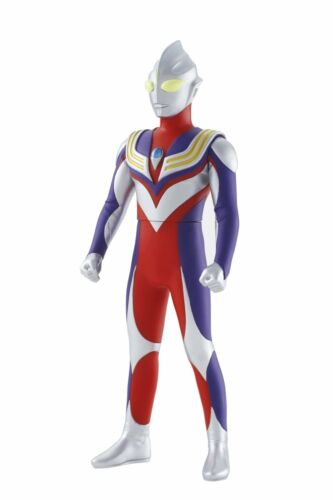 "Ultraman Ultra TIGA BIG Sized 9.3/"" figure BANDAI New Japan"