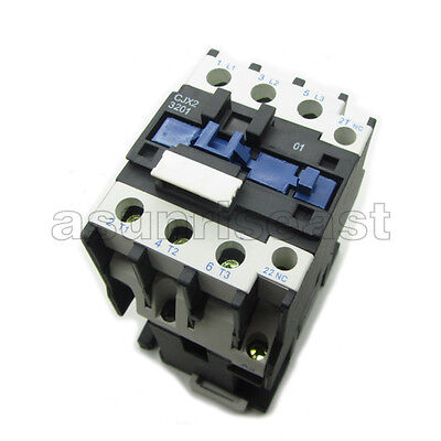 AC Contactor AC110V Coil 32A 3 Pole NO+1NC Auxiliary Contact LC1D3201 CJX2-D3201
