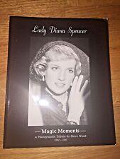 PRINCESS DIANA - LADY DIANA SPENCER MAGIC MOMENTS PHOTO BOOK UK PAPERBACK