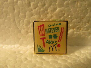 McDonald-039-s-Vintage-Doing-Whatever-It-Takes-Collectible-Pin-pin3480