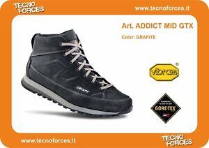 Sneakersgrafite Urban Crispi In Scarpa Mid Addict Gtx Italy Made Goretex Outdoor dXvvxwFqA