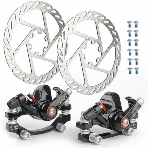 Fahrrad Scheibenbremse Set 160mm mechanische Scheibe Vorderradbremse Bremsgriff
