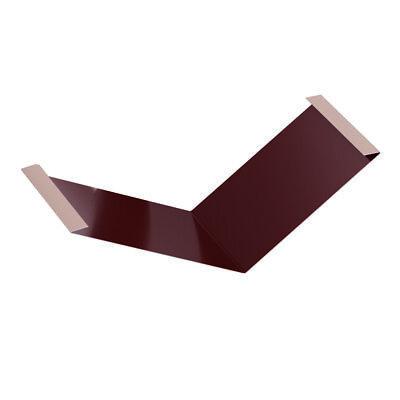 Gehorsam Roofart Kehlblech Passend Für Das Dachpfannenprofil In Ziegeloptik Schnelle Farbe Baustoffe & Holz Fürs Dach