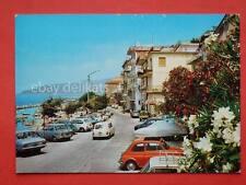 PISCIOTTA MARINA auto Fiat 500 Mini Salerno vecchia cartolina