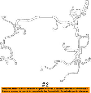 FORD-OEM-2011-Fiesta-1-6L-L4-Wiring-Harness-Wire-Harness-BE8Z14290BB