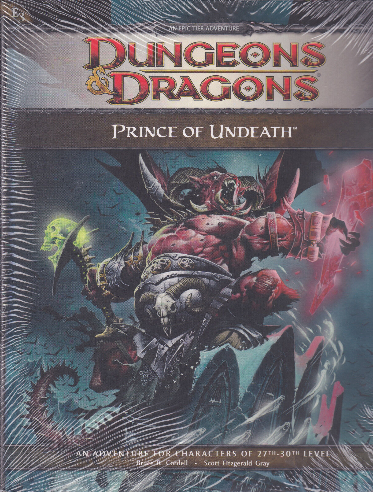 Dungeons & Dragons D&D Prince of Undeath an Epic Tier Adventure 27-30th Level