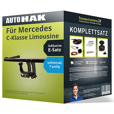Anhängerkupplung abnehmbar für MERCEDES C-Klasse Limousine ESatz AHK