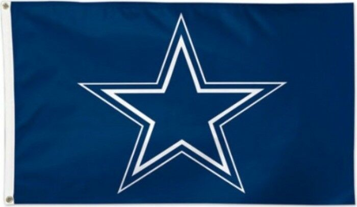 Flagge Hissflagge NFL Dallas Cowboys 90 cm x 150 cm 90 Fahne 102972