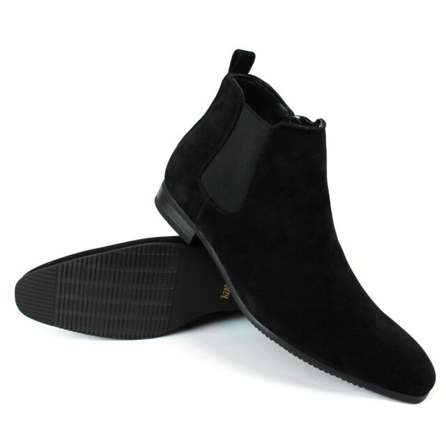 Indian Black Leather Side ZIPPER Boot