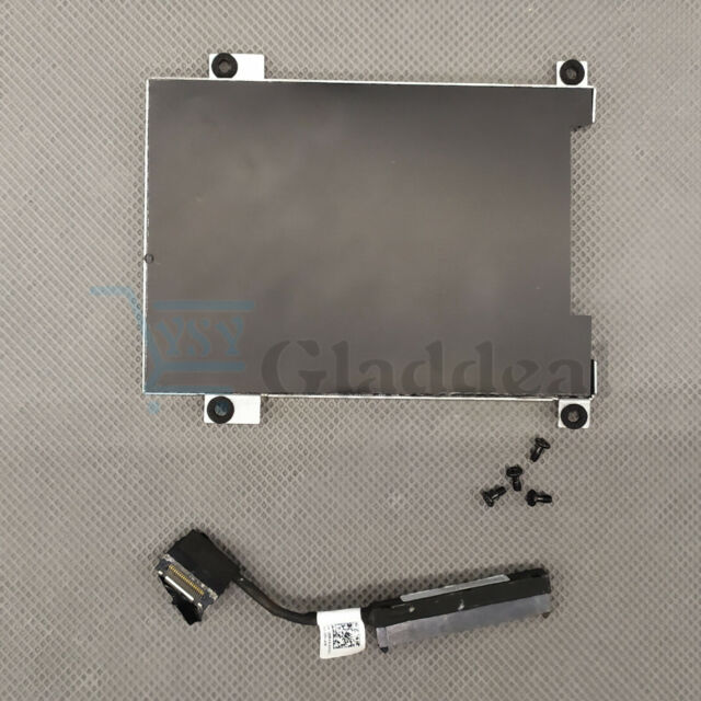NEW Dell Latitude 5490 5491 5480 HDD Cable 80RK8 Caddy Frame Bracket 0NDT6 US