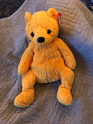 PE Pellets Mint w// Tag 2001 Ty Beanie Babies Poopsie the Bear