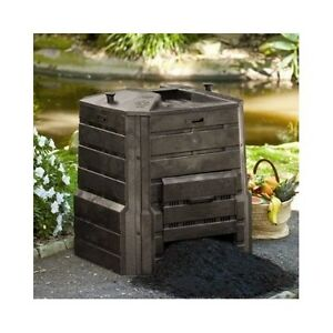 Image Is Loading Garden Compost Bin Backyard Composting Soil Kitchen Scraps