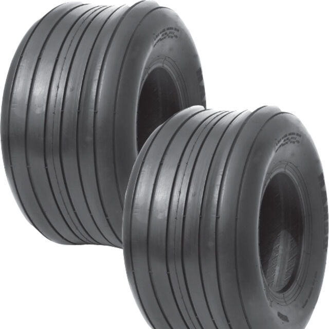 16x6.50-8 16//6.50-8 4Ply Tubeless Tires  For Garden Tractor Lawn mower Set of 2