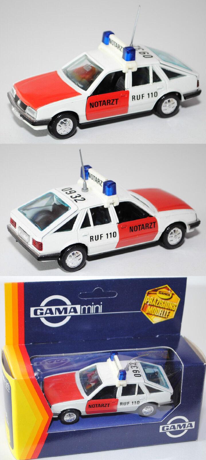 Gama Mini 1171 OPEL ASCONA 1.6 S (Type c1, quatre portes, berline) ambulance, 1 43