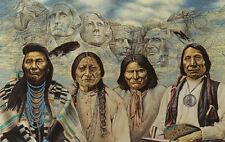 Jigsaw puzzle Ethnic Native Americans Original Founding Fathers 550 piece NEW