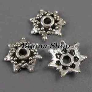 40 Caps Calotte pour perles 10 mm
