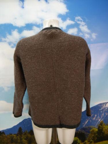 courtes la et 44 à en chaude veste Cardigan à manches Taille à épaisse main brune la et main EwXCSxRqn