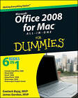 Office 2008 for Mac All-in-one For Dummies by Geetesh Bajaj, Jim Gordon (Paperback, 2009)