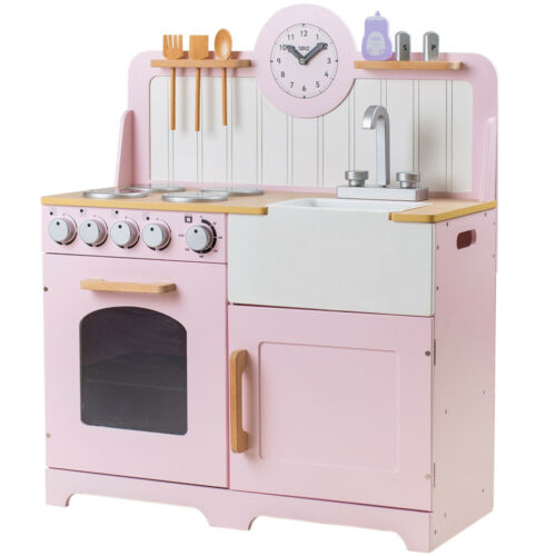 Tidlo legno Paese Gioca Kitchen Rosa