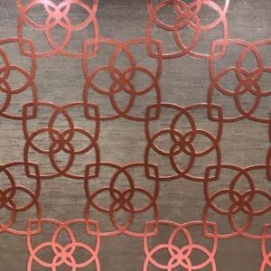 Wallpaper-Designer-Copper-Coral-Metallic-Trellis-on-Bronze-Brown-Texture
