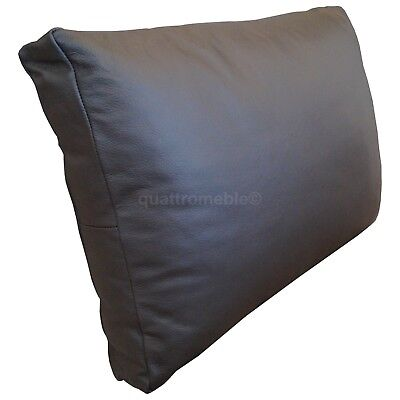 Real Genuine Dark Brown Leather