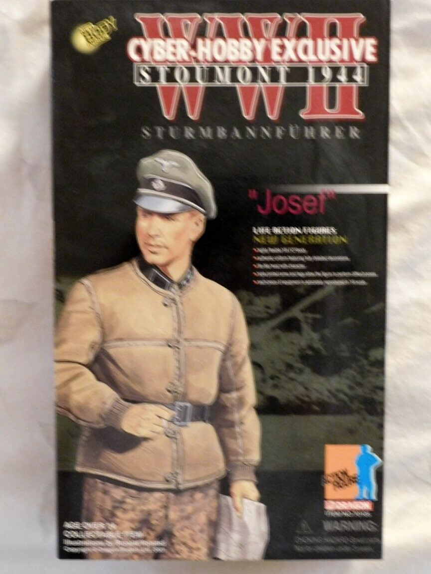 Dragon 1/6 FIGURE GERMAN WWII CYBER-HOBBY EXCL.    70105  JOSEF   NR MINT BOX