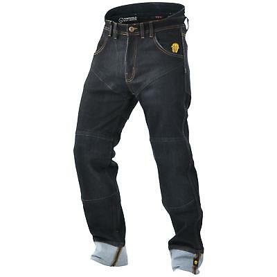 Symbol Der Marke Trilobite Symphis Rocker Jeans Hose Herren Blau Motorrad Protektoren Aramid