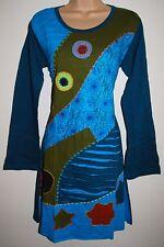 New Fair Trade Dress ML 10 12 - Hippy Hippie Ethnic Boho Bubble Cotton Nepal