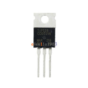 5PCS TIP125 TRANS PNP DARL 60V -5A TO-220 IC